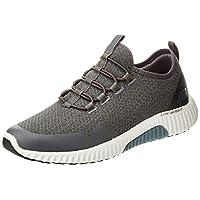 SKECHERS Paxmen, Men's Road Running Shoes, Grey (Charcoal), 45 EU