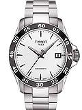 Tissot Herren-Uhren Analog Automatik One Size Edelstahl 87448029