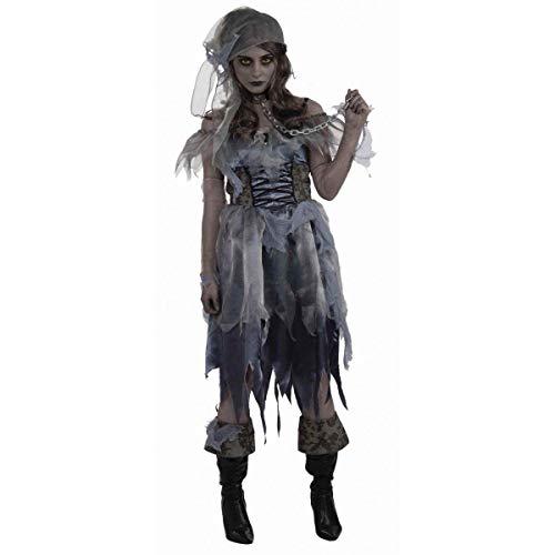 Bristol Novelty AC617 Zombie Pirat Kostüm für ()