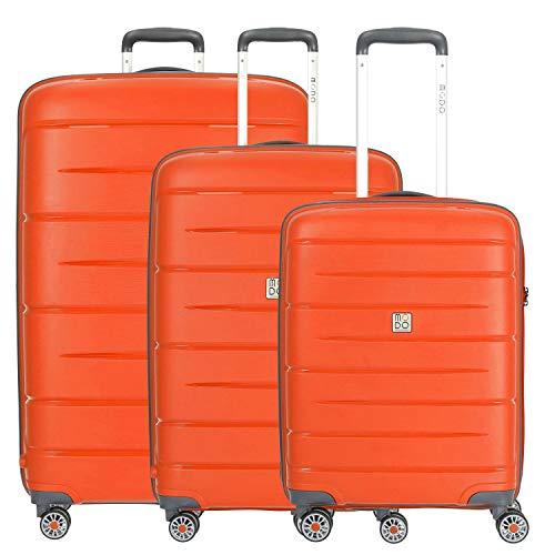Starlight 2.0 Koffer-Set, 110 liters, Orange (Arancione)