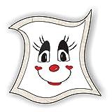 jeder-kann-basteln ♥ Sticker-Gesichter-schmunzeln ♥ Kleiner Preis! Lustige Aufkleber (Augen, Nase, Mund) für Kinder (Small)