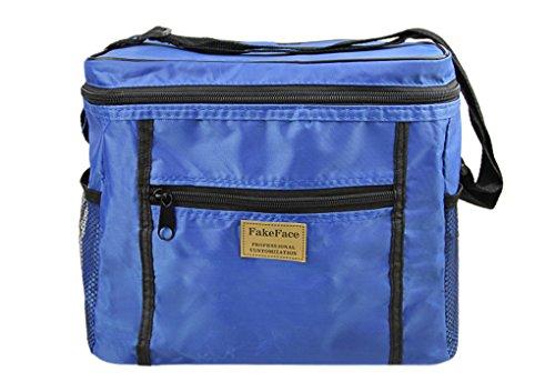 Bolsa isotérmica, bolsa para el almuerzo, para comida, alimentaria, nevera, impermeable, bolsa...