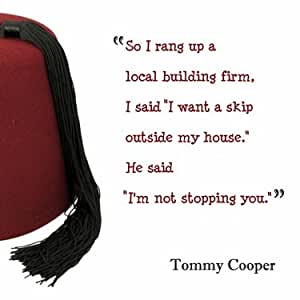 Tommy Cooper Greeting Card - Skip (TC12) New in Cello