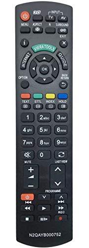 Nuevo reemplazo control remoto N2QAYB000752 apto Panasonic