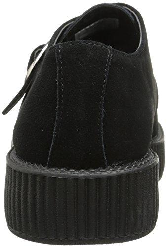 T.U.K. Viva Lo, Baskets mode femme Noir (Black)