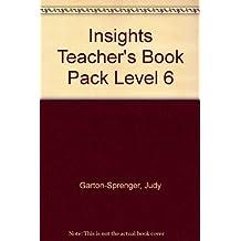 Insights Teacher's Book Pack Level 6 by Judy Garton-Sprenger (2013-01-02)
