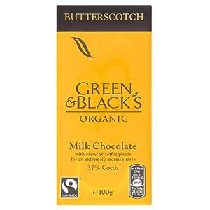 Green & Black's Butterscotch Milk Chocolate Bar, 100g (Organic)