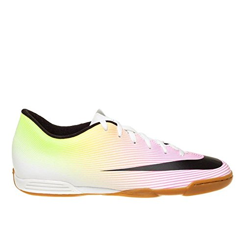 Nike Jr Mercurial Vortex Ii Ic, Chaussures de Foot Mixte Bébé, 36 EU Blanc Cassé - Blanco (White / Black-Volt-Total Orange)