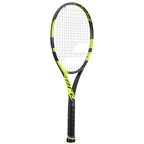 Babolat Unisex's Pure Aero Strung Nc Racket, Black/Yellow,, used for sale  Delivered anywhere in Ireland