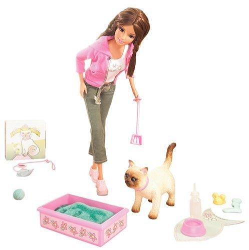 Preisvergleich Produktbild Mattel - Barbie K2771-0 - Teresa & Katze Mika