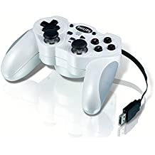 Philips SGC2909BB/27 Gamepad PC Negro, Color blanco mando y volante - Volante/mando (Gamepad, PC, Analogue / Digital, Alámbrico, Windows Vista Business,Windows Vista Business x64,Windows Vista Enterprise,Windows Vista Enterprise , Ampolla)