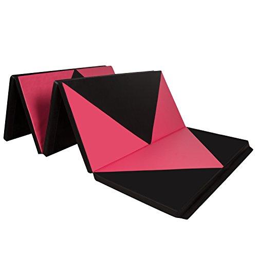 CCLIFE Tragbar Faltbar Gymnastikmatte Weichbodenmatte Yogamatte Turnmatte Klappmatte Fitnessmatte...