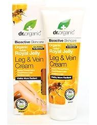 Dr. Organic Crème Jambes/Varices à la Gelée Royale Bio 200 ml