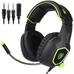 41jEwaV2XxL. AC UL250 SR250,250  - Sades SA 708 Stereo PC Gaming Headset in offerta lampo per la Amazon Gaming Week 2016