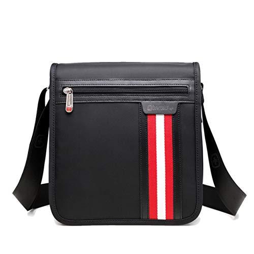 Kawei Classic Einfach Aktentasche Schlicht Handbagage Herren Nylon Hochwertig Umhängetasche Business Umhänge Taschen Vintage Sportliche Satchel Bags -