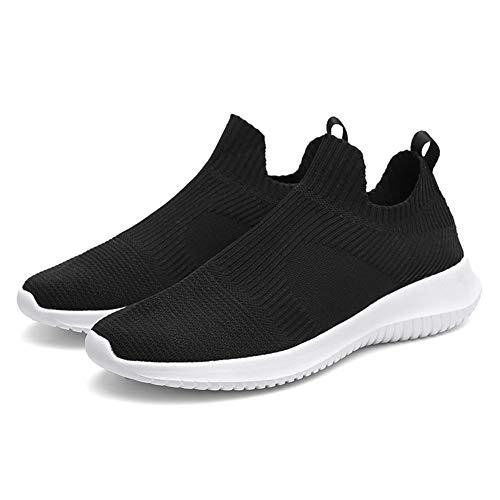 Scarpe Casual da Uomo Casual a Rete Traspirante, Scarpe da Corsa Casual Traspiranti, Sneakers Basse Senza Lacci