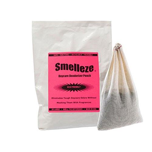 Smelleze riutilizzabile bambini smell removal Deodorizer Pouch: RID Kid odore Senza prodotti chimici in 300SQ.