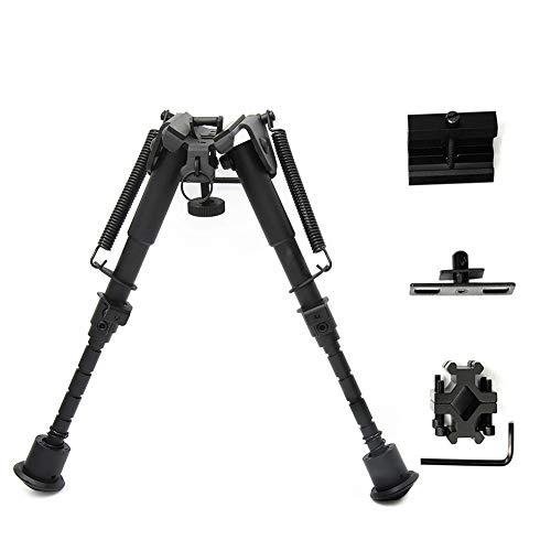 Dxlta Jagd Gewehr Zweibein Einstellbare Feder Sling Stud Mount Erweiterbar Tactical Zweibein mit 3 stücke Adapter -