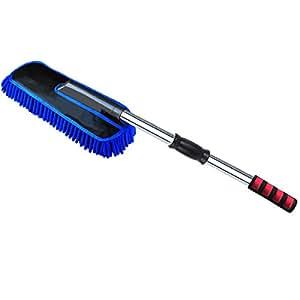 clystorm voiture nettoyage brosse de lavage chenille balai brosse t lescopique pour d poussi rer. Black Bedroom Furniture Sets. Home Design Ideas