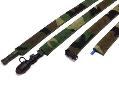 Woodland Hydration Pack Drink Tube Cover -