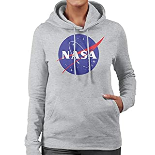 Nasa The Classic Insignia Women's Hooded Sweatshirt