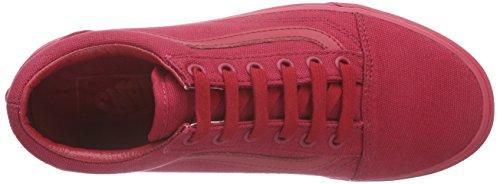 Vans Old Skool, Unisex Sneakers Rot (Crimson)