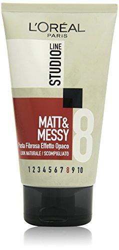 L'Oréal Paris Studio Line Matt&Messy Pasta Fibrosa, 150 ml