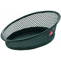 Alba Meshclip - Cesto para clips e imperdibles (metal, diseño reticulado) color negro