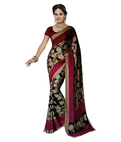 Sarees(Saree By Megha Designer Embroidery Work Saree with Blouse)