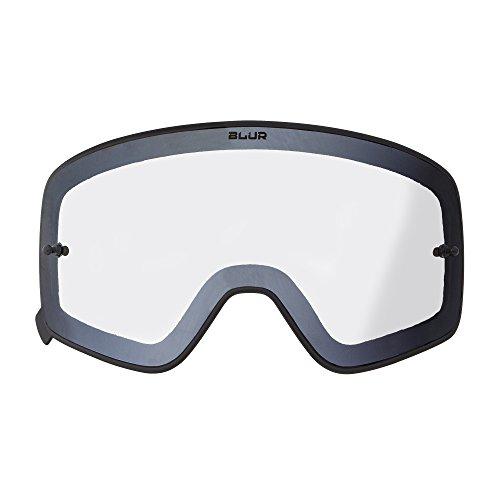 O'Neal Ersatz Magnet Scheibe B-50 Schwarz Goggle Anti Beschlag Polycarbonat MX Kratzfest Brille, 6020-9, Farbe Klar