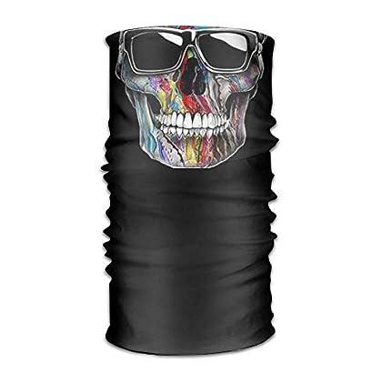 FAFANIQ Handsome Skull Headwear For Men And Wom...