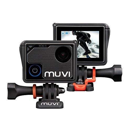 Veho Muvi KX-1 Action Kamera, KX-Serie, Freisprech-Camcorder, WiFi, 4k Action Kamera, 12MP Foto, Wasserdichtes Gehäuse, LCD-Touchscreen (VCC-008-KX1)