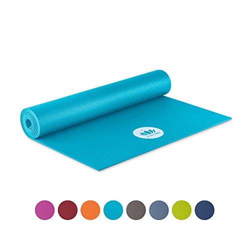 Lotuscrafts Yogamatte Mudra STUDIO   Für Anfänger und Fortgeschrittene   Yogamatte rutschfest schadstofffrei in vielen Farben   für Yoga Pilates, E...