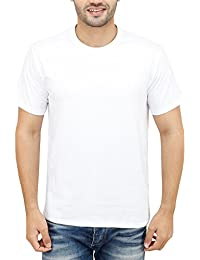 NEEVOV Men's Cotton Round Neck T-Shirt
