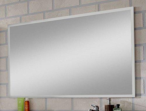 SAM® Badmöbel-Set 3-tlg, Hilo, hochglanz weiß, Softclose Badezimmermöbel, Badezimmermöbel, Doppelwaschplatz 120 cm Mineralgussbecken, Spiegel, Hochschrank - 4