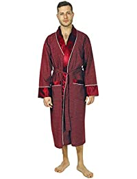 cfb9e7bc017 Bown of London Men s Luxury Dressing Gown