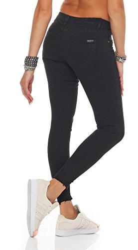SKUTARI -  Jeans  - skinny - Basic - Donna Black 4