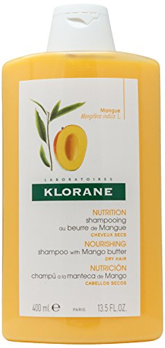 Klorane Shampoo with Mango Butter - hair shampoos (Women, Non-professional, Shampoo, Nutrition, Purifying, Revitalizing, Mango, WATER, SODIUM LAURETH SULFATE, PEG-7 GLYCERYL COCOATE, DECYL GLUCOSIDE, LAURYL BETAINE, PROPYLENE GL)