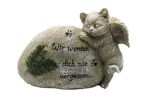 Grabdeko Gedenkstein Haustier (Katze)