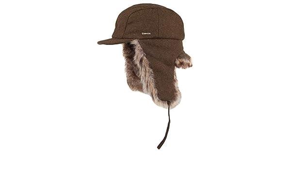 062f6f90 Kangol Hats Wool Aviator Trapper Hat - Loden Large: Amazon.co.uk: Clothing