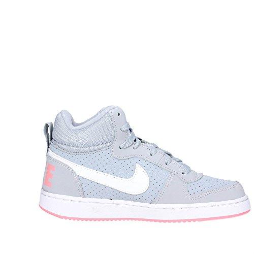Nike WOLF GREY/WHITE-BRIGHT MELON 845107 001 Mädchen Schnürstiefelette Kaltfutter Grau