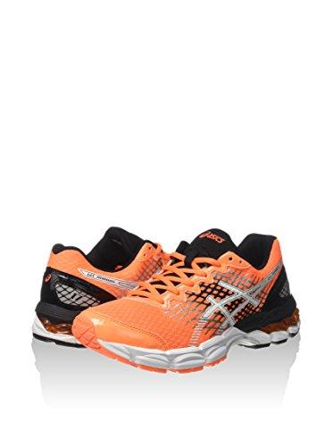 Asics Gel Nimbus 17 GS Hot Orange Black Black Orange