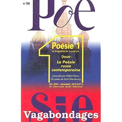 Poésie vagabondages, numéro 28 : La Poésie russe contemporaine