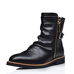 Mens Chelsea Cowboy boot style Ankle Boots