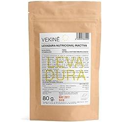 Levadura nutriconal inactiva en copos Ecológica 80 gr superalimentos CALIDAD EXTRA VEKINE Levadura con la vitamina B12