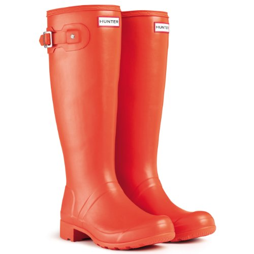 Damen Hunter Original Tour Regen Winter Schnee Festival Gummistiefel - Clementine - 35/36 - Clementine Hunter