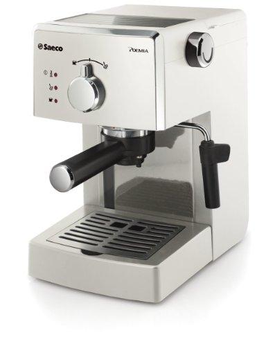 Saeco Poemia HD8423/28 macchina per caffè Libera installazione Macchina per espresso Bianco 1 L Manuale