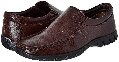 BATA Men's Remo Brown Formal Shoes - 10 UK/India (44 EU)(8514583)