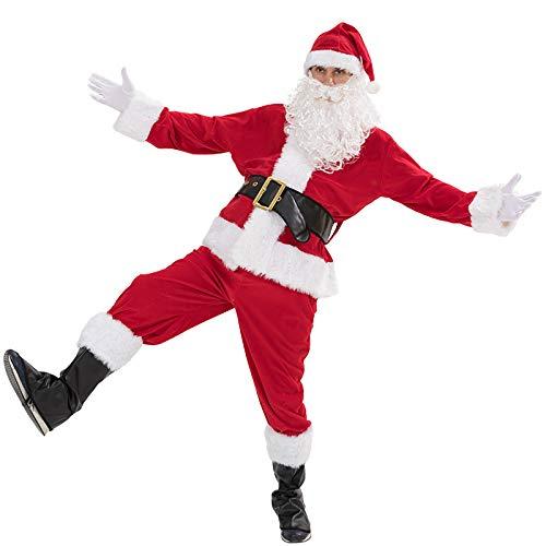 Weihnachten Kostüm Hunde Vater - OOFAY Santa Kostüm, Weihnachten Vater Kleidung Festival Gedämpfte Gaze Fashion Family Set Dress Up Die Ferien Atmosphäre Family Holiday Party