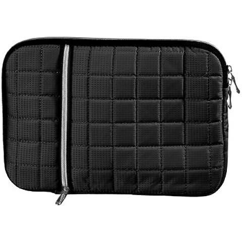 Funda para tablet o portátil tapizadas carcasa de colour negro Compatible con Asus Transformer Pad TF701T 32 GB (500-10 - Ste-SW)